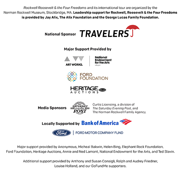 Sponsors for Four Freedoms